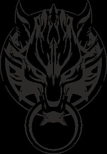210x300 Final Fantasy Advent Children Wolf Logo Vector (.cdr) Free Download