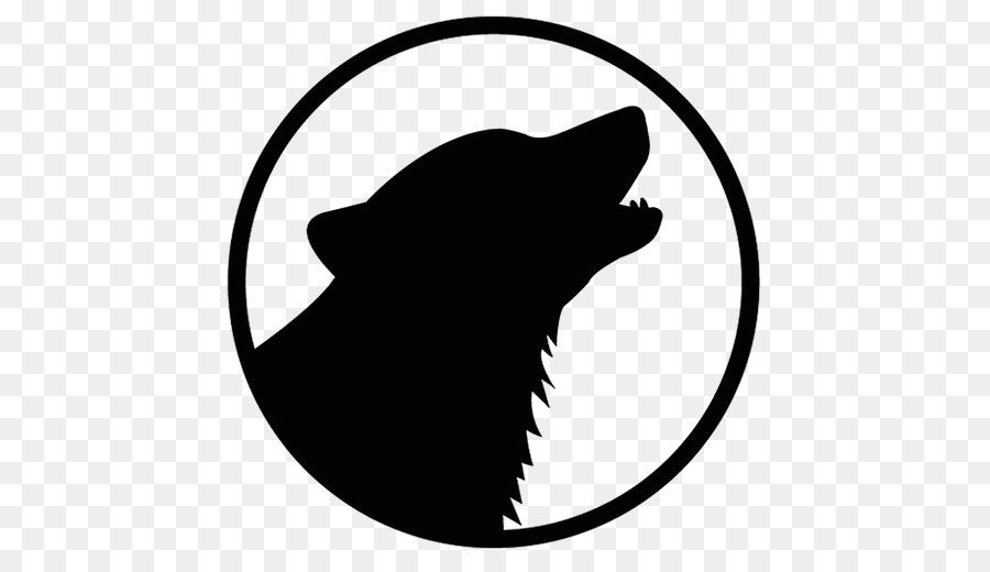 900x520 Gray Wolf Logo Black Wolf Clip Art
