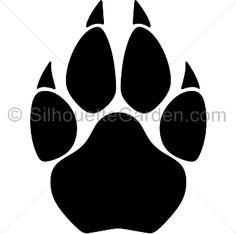 236x234 Tiger Paw Prints Walking Drawing Cougar Paw Prints Cougar Paw