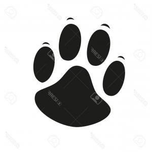 300x300 Png Cat Dog Paw Claw Bear Footprint Vector Orangiausa