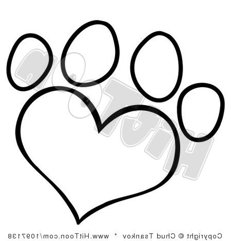 450x470 Results For Wolf Paw Print Vector