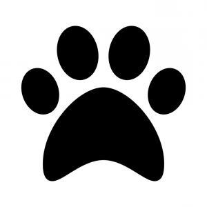 300x300 Stock Illustration Animal Paw Pet Wolf Paw Sohadacouri