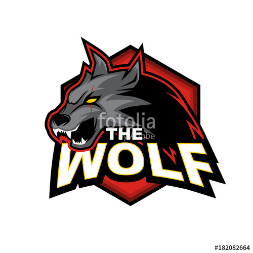 500x500 The Wolf Vector Logo Design Stock Image And Royalty Free Vector