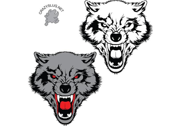 700x490 Wolf Vector