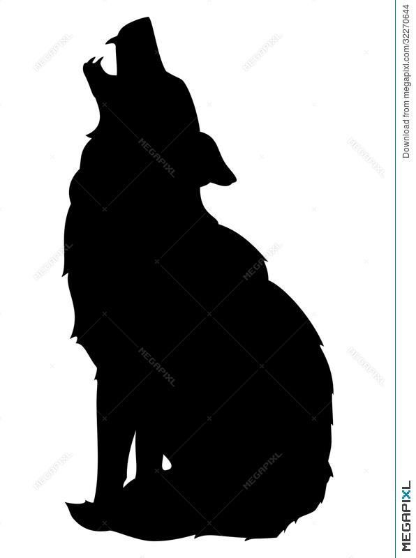 596x800 Wolf Vector Illustration 32270644