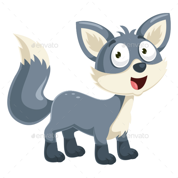 590x590 Wolf Vector Illustration By Yusufdemirci Graphicriver