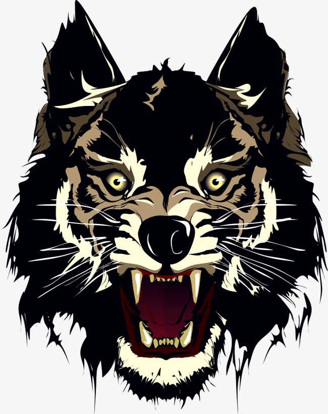 650x821 Wolf Vector Material, Wolf Vector, Wolf, Cartoon Animals Png And