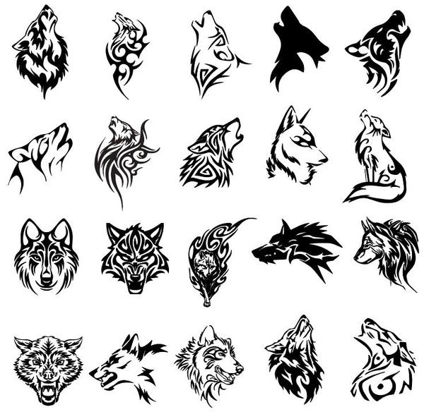 600x594 Wolf Vector Free Download