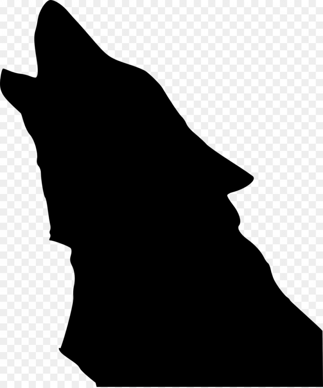 1080x1296 Png Gray Wolf Drawing Silhouette Clip Art Wolf Vector Sohadacouri
