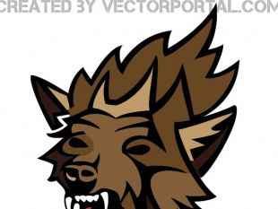 310x233 Angry Wolf Vector Art Free Vectors Ui Download