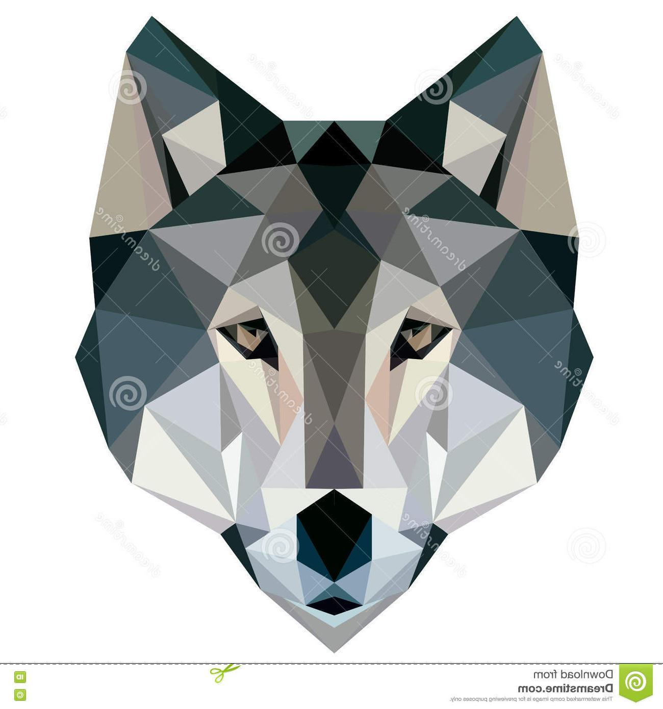 1300x1390 Unique Geometric Wolf Vector Images Free Vector Art, Images
