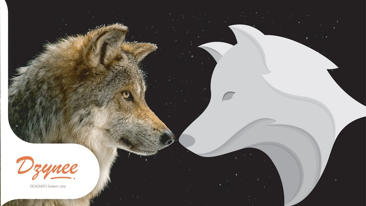 1280x720 Illustrator Tutorials Wolf Picture To Wolf Vector