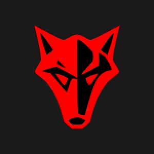 300x300 Knights Kingdom Triangular Wolf Vector Graphic