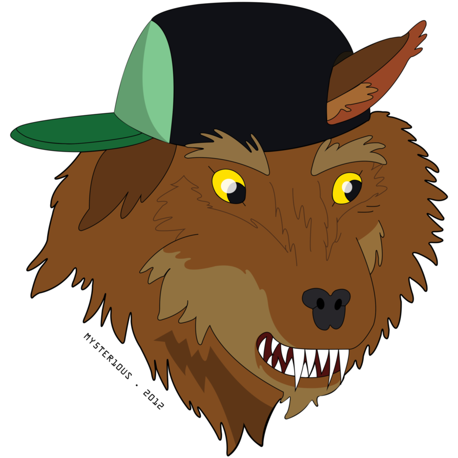 894x894 Party Wolf Vector By Mysterious Master X