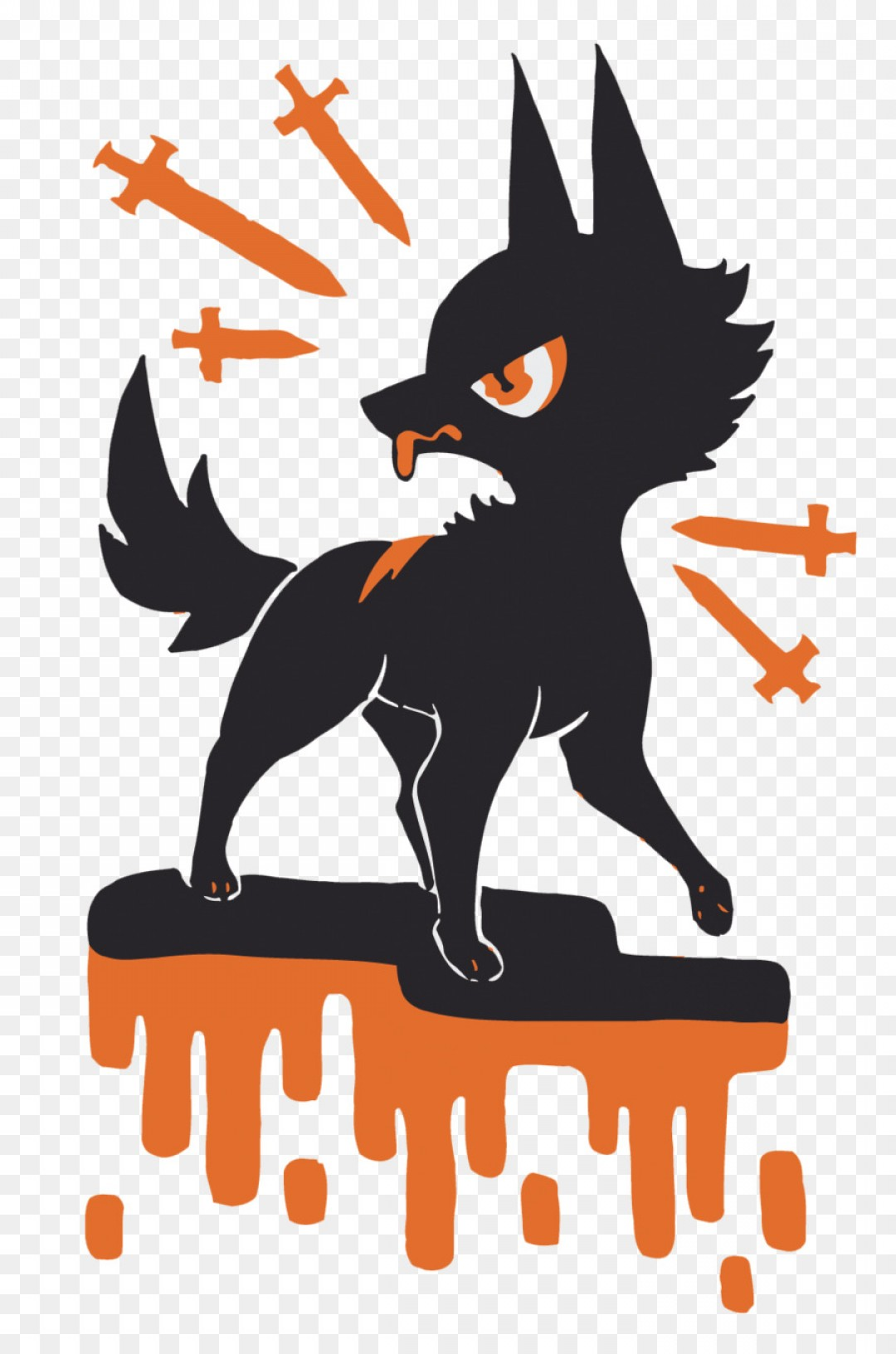 1080x1632 Png Gray Wolf Clip Art Vector Wolf With Sword Sohadacouri