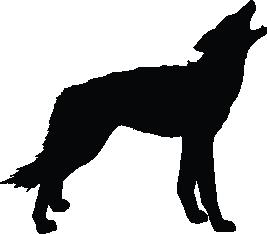 267x234 Wolf Vector