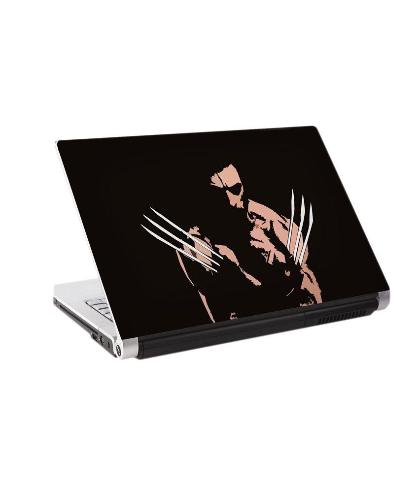 850x995 Lorem Wolverine Vector Matte Finish Vinyl Laptop Skin