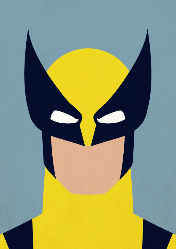 595x842 W Is For Wolverine By Payno0