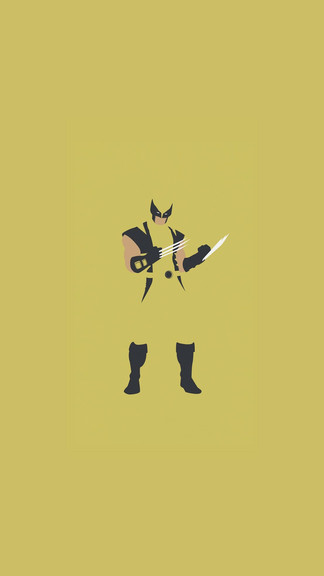 324x576 Wolverine Vector Iphone 6 Wallpaper