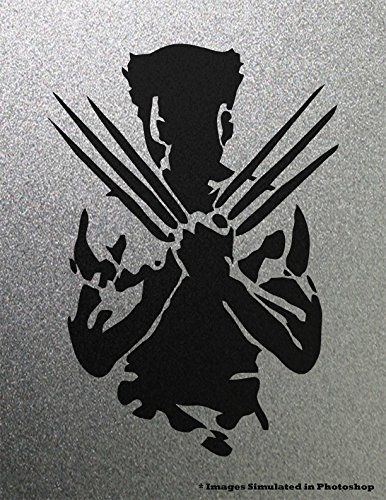 386x500 Wolverine X Men Vector Outline Silhouette Logo Symbol Outline