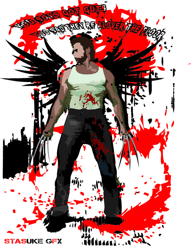 797x1024 Wolverine Vector Illustrator Design Wolverine (Old) Stas
