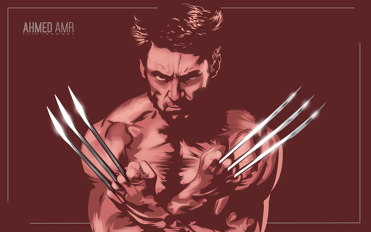 1200x750 Wolverine Vector Art On Behance