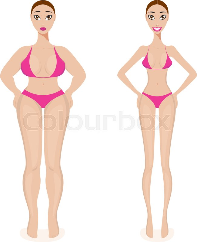 650x800 Woman Weight Loss Success Before And After Obesity Slim Body