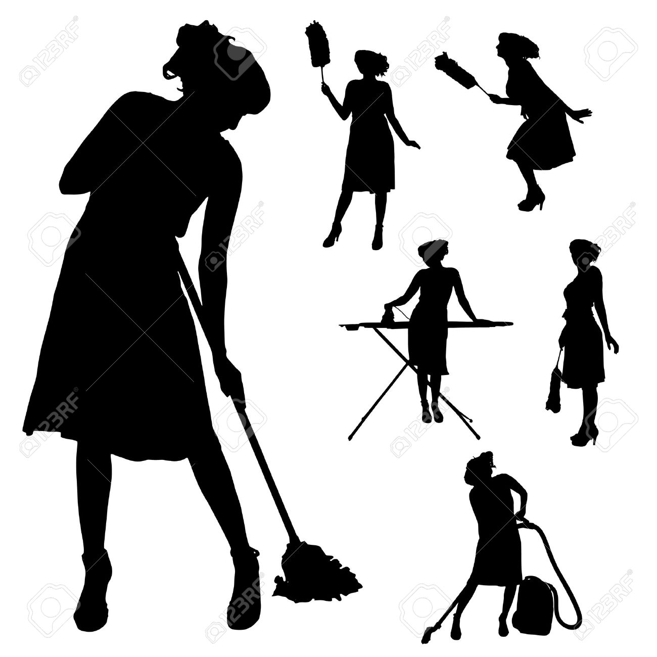 1300x1300 Cleaning Lady Images Free