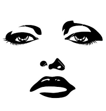 219x230 Resultado De Imagem Para Silhouette Beautiful Woman Face Vector