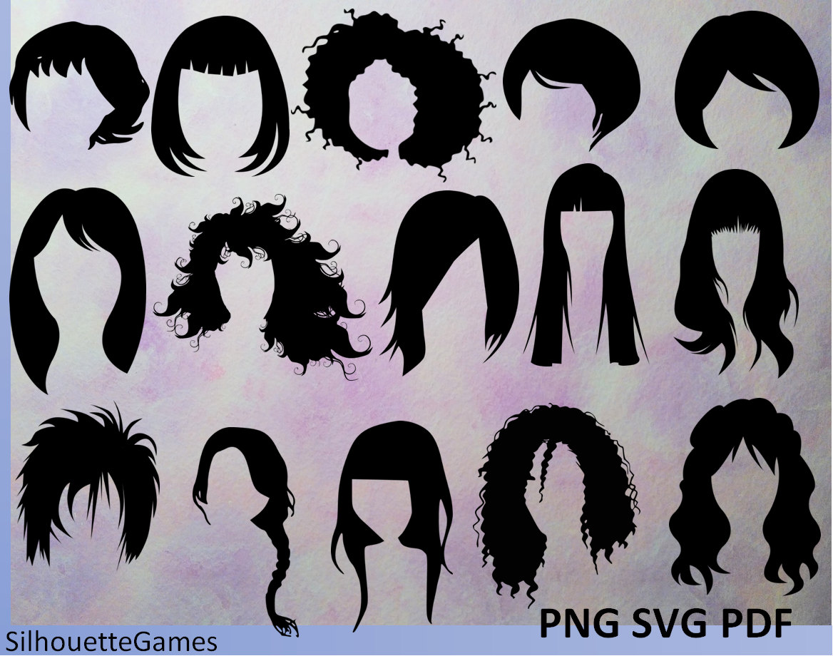 1168x920 Hairstyles Women Hairstyles Hairstyle Silhouettes Black Etsy