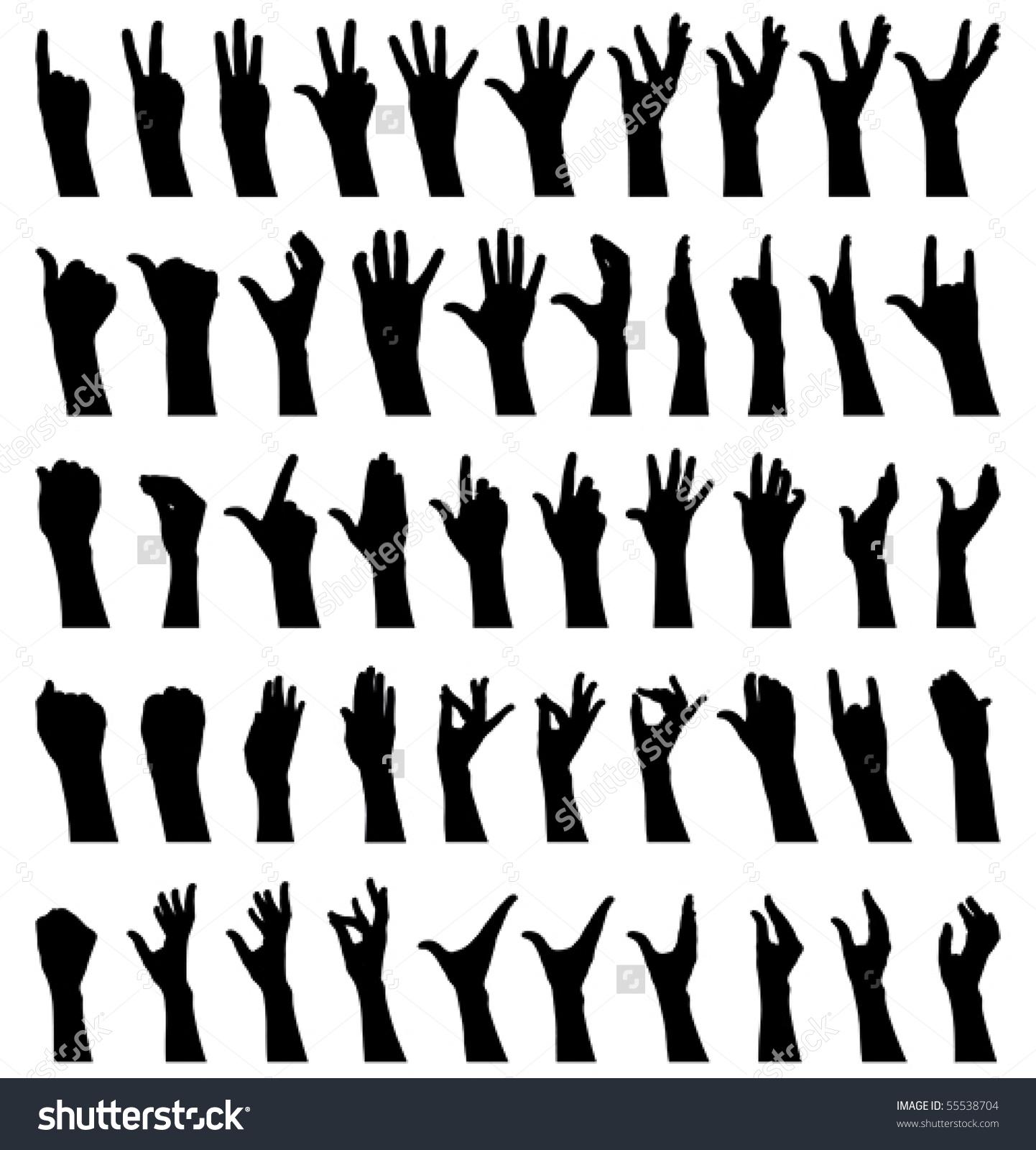 1442x1600 Hand Gesture Clipart Female