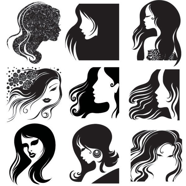 600x600 Free Female Head Silhouette Psd Files, Vectors Amp Graphics