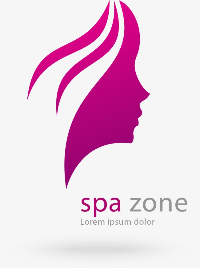 650x872 Head Of A Woman Vector Symbol Beauty Salons, Head Vector, Woman