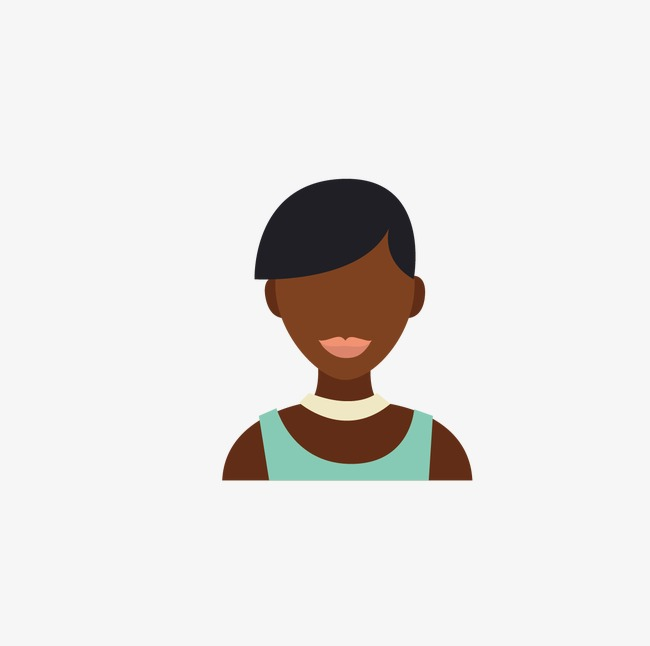 650x646 African Woman Head, Woman Vector, Head Vector, Woman Clipart Png