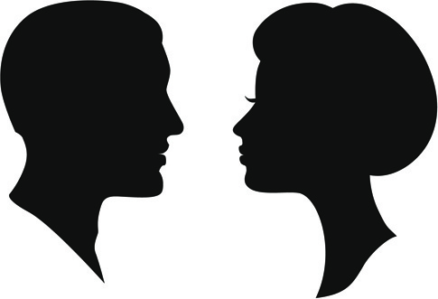 485x331 Black Woman Silhouette Free Vector Download (13,519 Free Vector