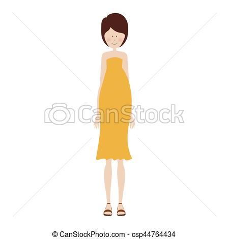 450x470 People Pregnant Woman Icon Image, Vector Illustration Design.