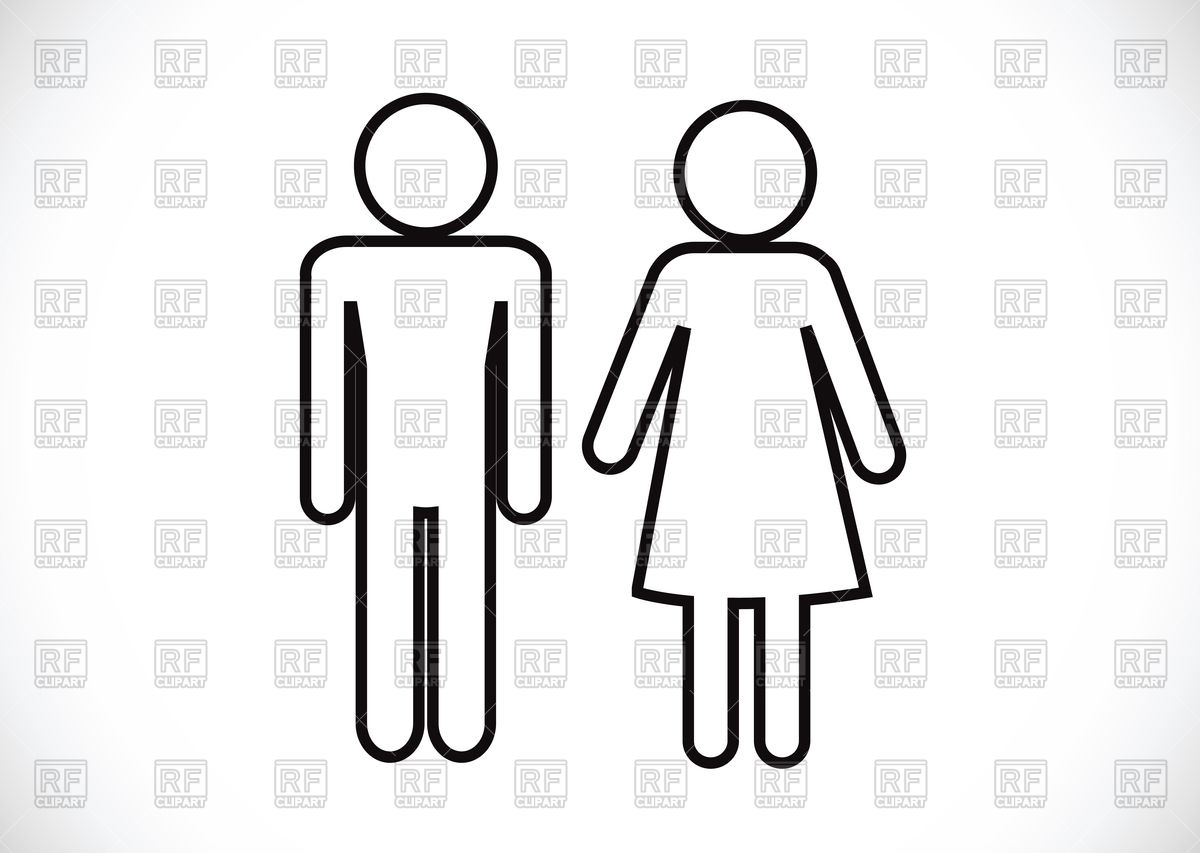 1200x853 Pictogram Man Woman Wc Icon Vector Image Vector Artwork Of Icons