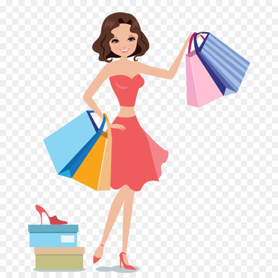 900x900 Shopping Woman Icon
