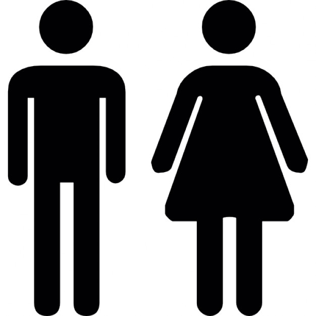 626x626 Toilet Man Women Icons Free Download