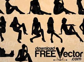270x200 Free Women Vector Graphics