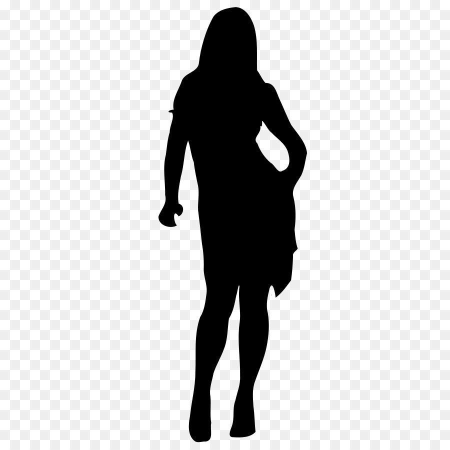 900x900 Woman Silhouette Clip Art
