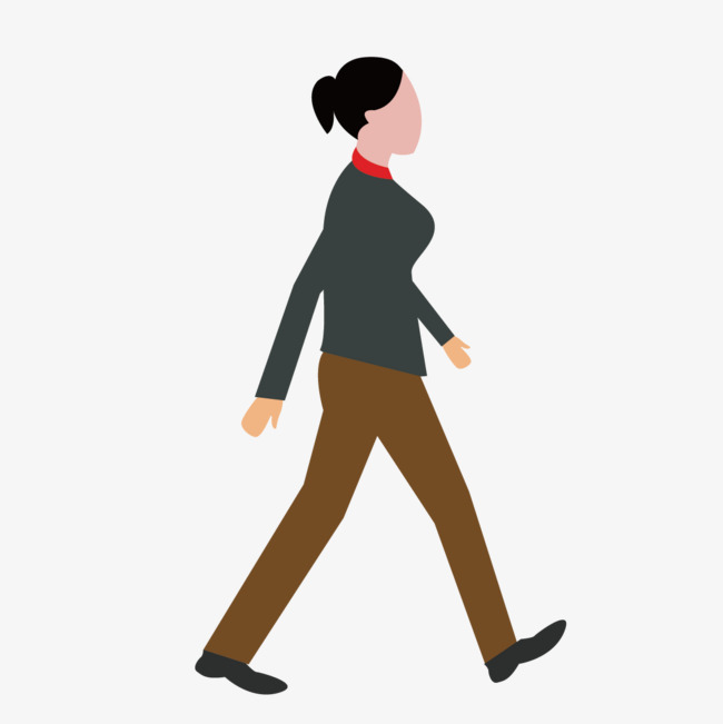650x651 Vector Walking Woman, Vector, Walk, Woman Png And Vector For Free