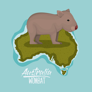 300x300 Common Wombat Royalty Free Vectors