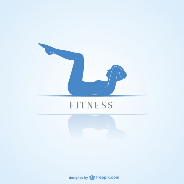 626x626 Fitness Minimalist Logo Vector Free Download