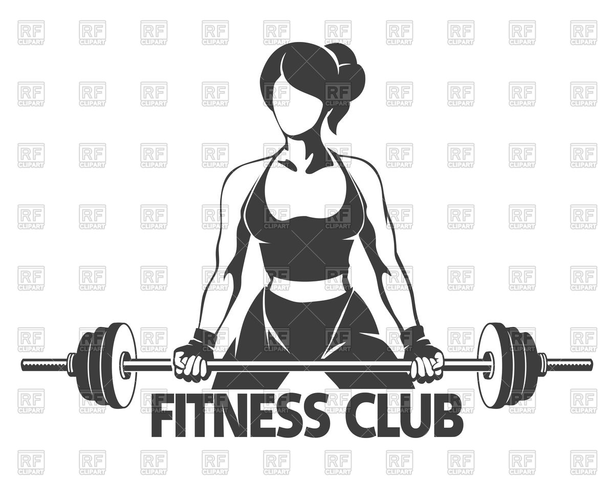 1200x938 Fitness Or Gym Center Emblem