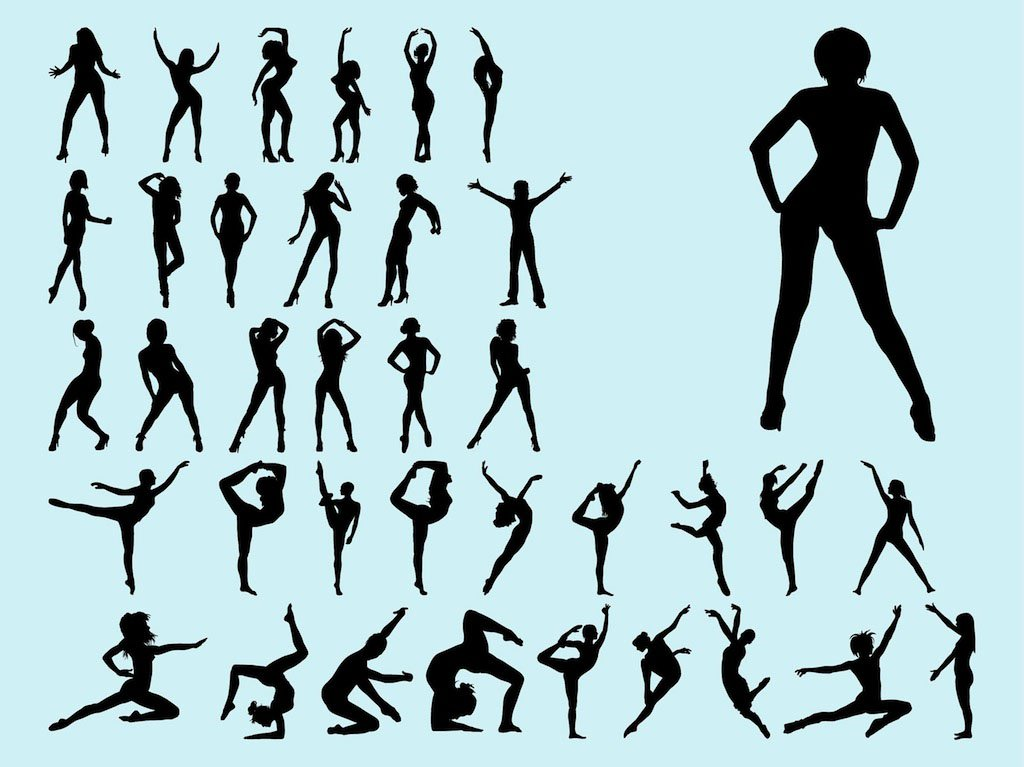 1024x767 Dancing Women Vector Art Amp Graphics