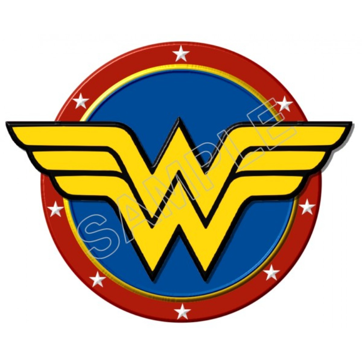 1200x1200 Personalized Iron On Transfers! Wonder Woman Logo T Shirt Iron On
