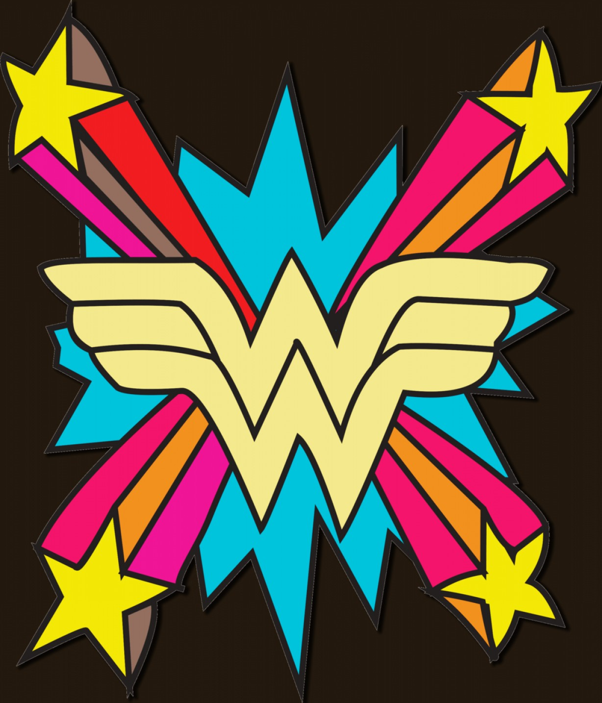 1228x1434 Wonder Woman Logo Logospike Famous And Free Vector Logos
