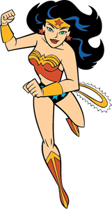 161x300 Wonder Woman Logo Vector (.eps) Free Download