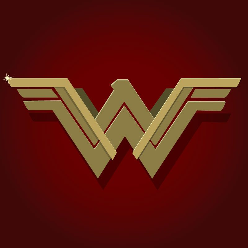 800x800 Download The Wonder Woman Vector Logo Designed By Images Picture